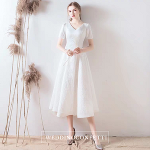 The Lilette Short Sleeve Bohemian Dress - WeddingConfetti