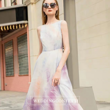 Load image into Gallery viewer, The Canterbury Sleeveless Floral Dress - WeddingConfetti