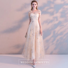 Load image into Gallery viewer, The Laqueta Sleeveless Unicorn Tulle Gown - WeddingConfetti