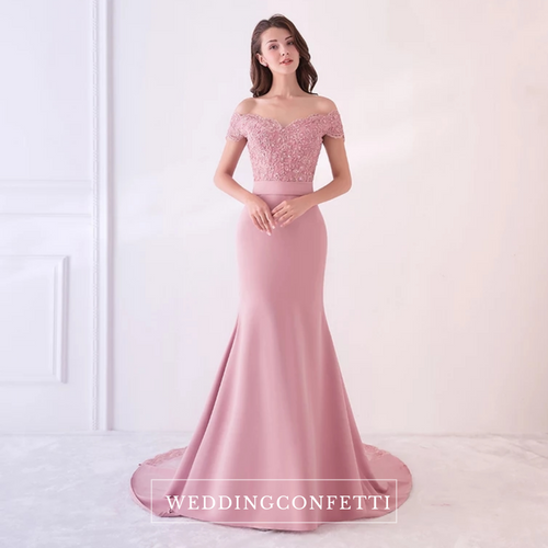The Fremonte Off Shoulder Gown - WeddingConfetti