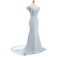 Load image into Gallery viewer, The Fremonte Off Shoulder Gown - WeddingConfetti