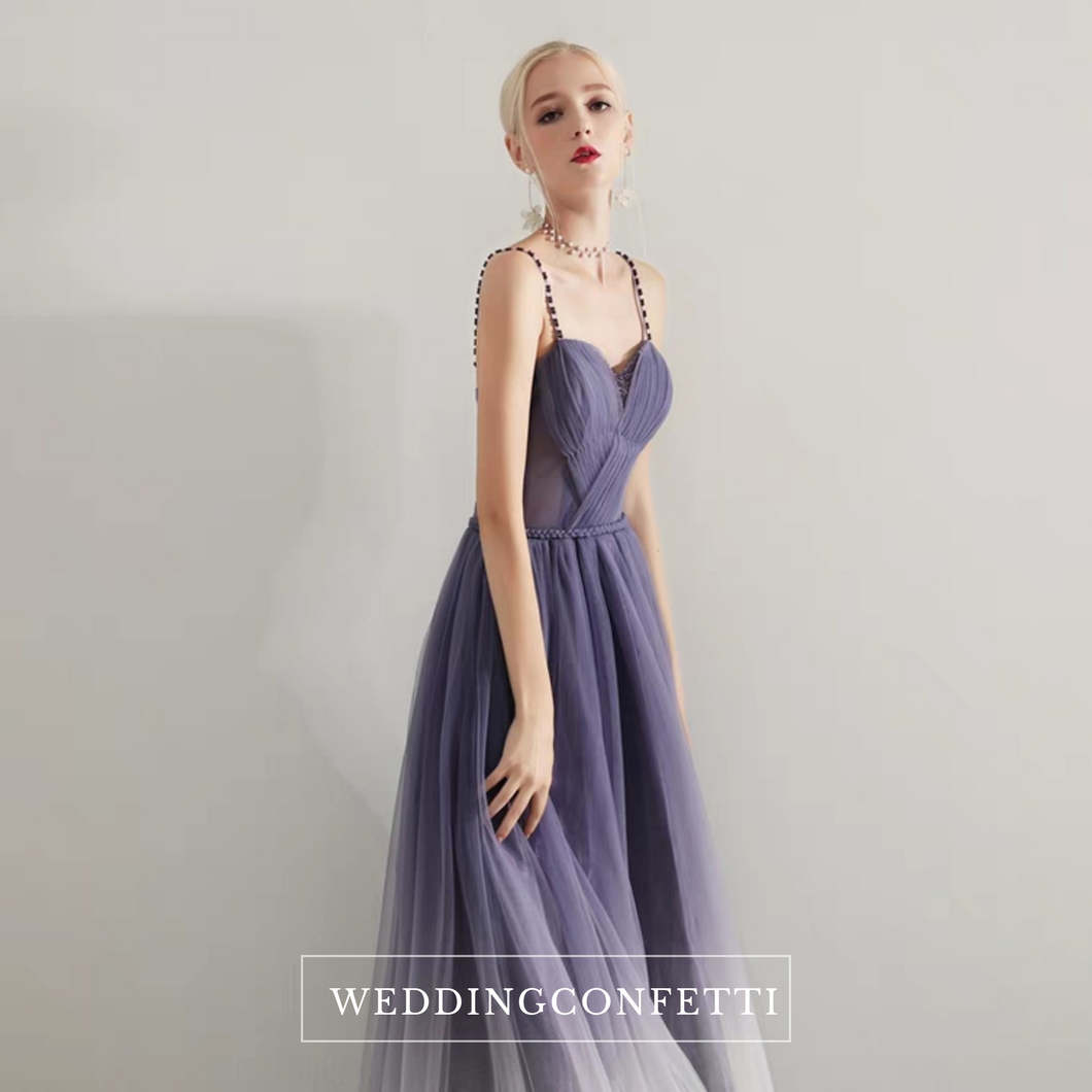 The Ashley Ombre Sleeveless Gown - WeddingConfetti