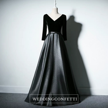 Load image into Gallery viewer, The Yolanda Royal Long Sleeves Dress (Available in 3 colours) - WeddingConfetti