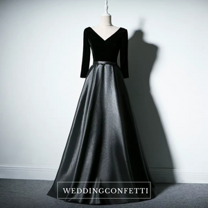 The Yolanda Royal Long Sleeves Dress (Available in 3 colours) - WeddingConfetti