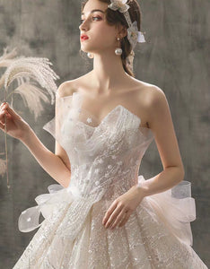 The Allegra Wedding Bridal Tube Gown - WeddingConfetti