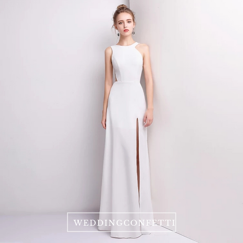 The Levelia Sleeveless Dress (Available in 3 colours) - WeddingConfetti