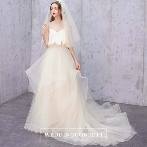 The Kelista Wedding Bridal Tulle Gown - WeddingConfetti