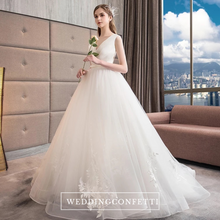 Load image into Gallery viewer, The Angelica Wedding Bridal Sleeveless Gown - WeddingConfetti