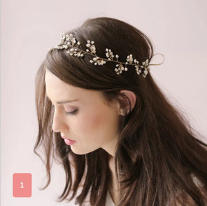 Bridal Headpiece - WeddingConfetti