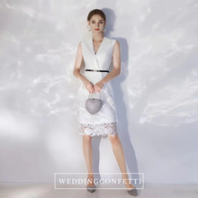 Load image into Gallery viewer, The Victoria White Lace Dress (Available in 2 colours) - WeddingConfetti