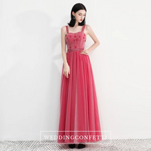Load image into Gallery viewer, The Fayer Pink Sleeveless Gown - WeddingConfetti