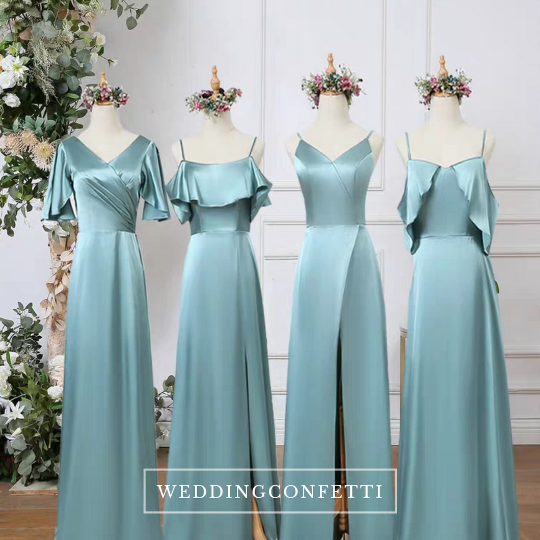 The Carroll Satin Bridesmaid Dress (Customisable) - WeddingConfetti