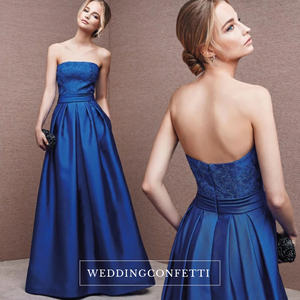 The Isabella Tube Long Evening Gown (Available in other colours) - WeddingConfetti