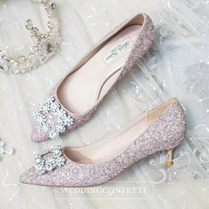 Wedding Crystal Heels - WeddingConfetti