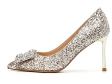 Load image into Gallery viewer, Wedding Crystal Heels - WeddingConfetti