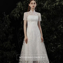 Load image into Gallery viewer, The Yazmine Wedding Bridal Cheongsam Dress