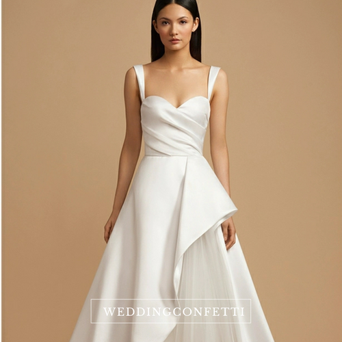 The Yaselle Wedding Bridal Sleeveless Gown