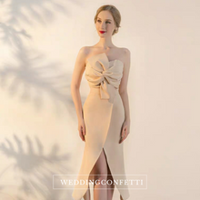 Load image into Gallery viewer, The Ixoria Champagne Tube Gown