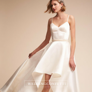 The Gailey Wedding Bridal Satin Gown