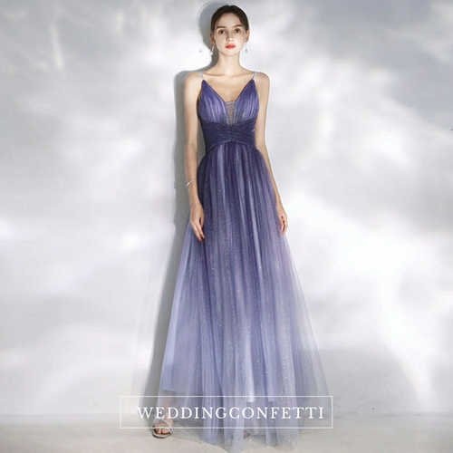 The Ashlee Ombre Sleeveless Gown