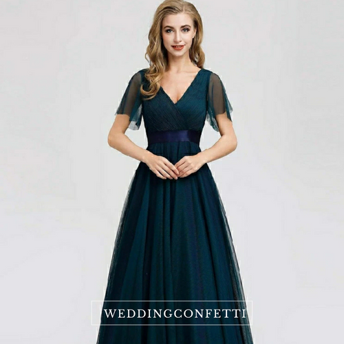 The Irisa Tulle Bridesmaid Dress (Customisable)