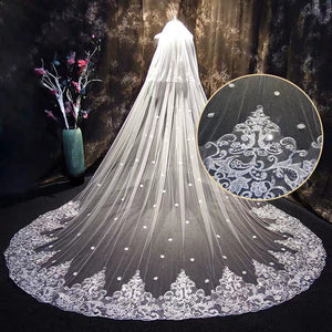 Wedding Bridal Veil (9 Different Designs)