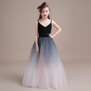 The Emily Flower Girl Ombre Dress - WeddingConfetti