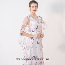 Load image into Gallery viewer, The Spring Blossoms Begonia Sleeveless Dress - WeddingConfetti