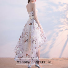 Load image into Gallery viewer, The Spring Blossoms Zinnia Tube Dress - WeddingConfetti