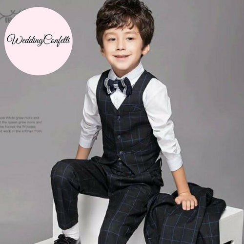 Ring bearer Boys Clothes Outfits - WeddingConfetti