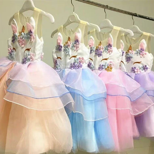 Unicorn Flower Dress