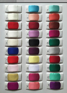 Colour Chart for Rerenza Gown - WeddingConfetti