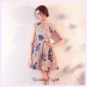 The Deana Sleeveless Floral Dress - WeddingConfetti