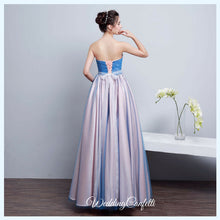 Load image into Gallery viewer, The Kirsten Blue Ombre Tube Gown - WeddingConfetti