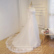 Load image into Gallery viewer, The Kristalyn Wedding Bridal Off Shoulder Gown