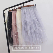 Load image into Gallery viewer, The Laura Bridesmaid Layered Tulle Skirt - WeddingConfetti