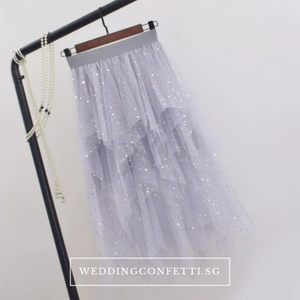 The Laura Bridesmaid Layered Tulle Skirt - WeddingConfetti