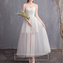 Load image into Gallery viewer, The Steffia Wedding Bridal Sleeveless Satin Dress - WeddingConfetti