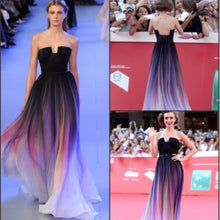 Load image into Gallery viewer, The Elie Saab Inspired Purple Ombre Tube - WeddingConfetti