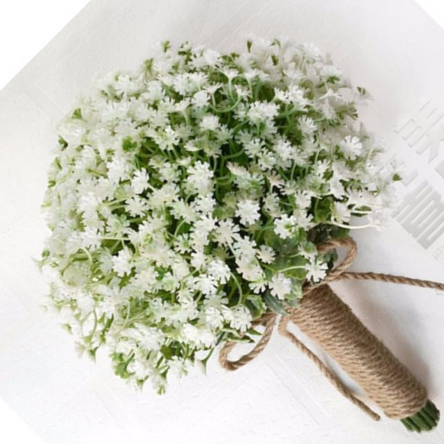 Wedding Flower Baby's Breath Bouquet - WeddingConfetti