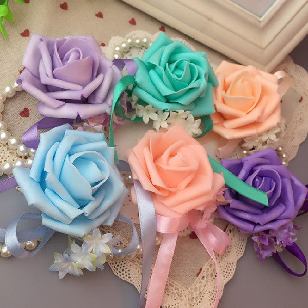 Wedding Flower Wrist Corsages