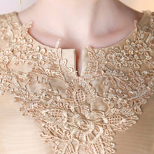 Load image into Gallery viewer, The Arissa Gold Embroidered Dress - WeddingConfetti