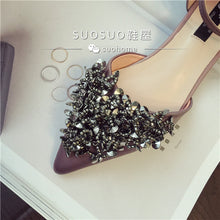 Load image into Gallery viewer, Wedding Bridal Sequins Flats (Available in 2 colours) - WeddingConfetti