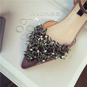 Wedding Bridal Sequins Flats (Available in 2 colours)