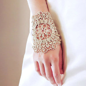 Bridal Silver Gold bracelet - WeddingConfetti