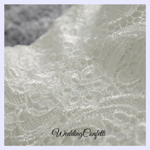 Load image into Gallery viewer, The Oriana White Lace Tube Dress (With Detachable Trail) - WeddingConfetti
