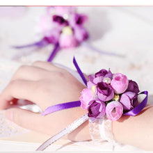 Load image into Gallery viewer, Wedding Flower Wrist Corsages - WeddingConfetti