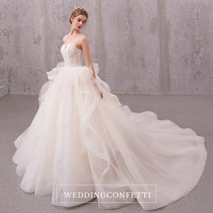 The Jessabelle Wedding Bridal Sleeveless Tulle Gown - WeddingConfetti