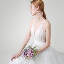 Load image into Gallery viewer, The Hensell Wedding Bridal Sleeveless Tulle Gown - WeddingConfetti
