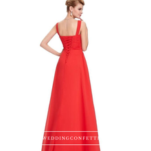 Load image into Gallery viewer, The Hannah Navy Blue / Red / White Sleeveless Dress - WeddingConfetti